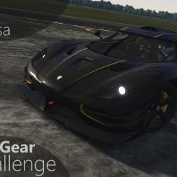 Assetto Corsa Top Gear Challenge #39 - Koenigsegg One:1