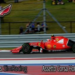 F1Simgames Assetto Corsa MGR F1 2015 @ USA GP