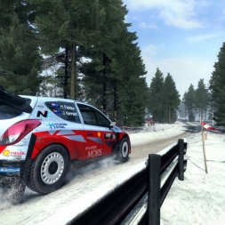 DiRT Rally - Winter Wonderland - Elgsjön - Hyundai Rally