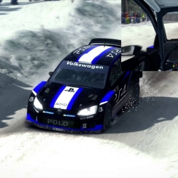 DiRT Rally - Stor Jangen Sprint Reverse - 8th World Ranking