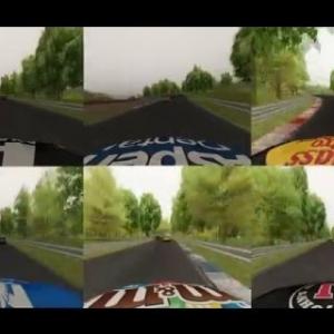 Assetto Corsa Nascar Virtual Racebuddy 6 multicams!!!