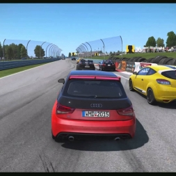 Project Cars Audi A1 Qauttro Race at Watkins Glen (1080p60fps)