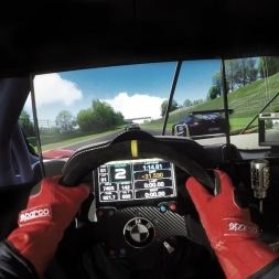 Assetto Corsa - Ferrari 458 GT2 @ Imola - Race Onboard Triple Screen