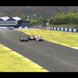 EEC Online GT Sprint S3 R2 - My Race @ Donington Park