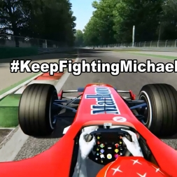 #KeepFightingMichael | Assetto Corsa onboard Monza