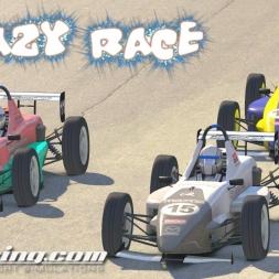 iRacing Skip Barber Official race at Road Atlanta - Crazy Race