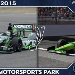 rFactor 2 - Indycar - Barber Motorsports Park - Comparativo / Real Life Comparison