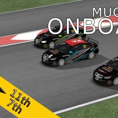 VSR HTCC 2015   Mugello Circuit   Balazs Toldi OnBoard