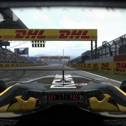 RD17: Renault R30 @ Yeongam (Dry & Wet) Helmet Effect - F1 2010 60FPS