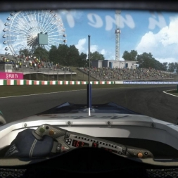 RD16: Williams FW32 @ Suzuka (Dry & Wet) Helmet Effect - F1 2010 60FPS