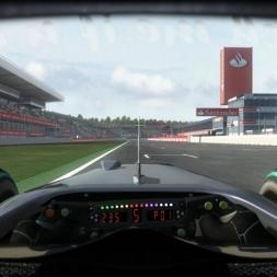 RD11: McLaren MP4-25 @ Hockenheim (Dry & Wet) Helmet Effect - F1 2010 60FPS