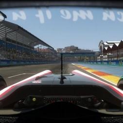 RD9: HRT F110 @ Valencia (Dry & Wet) Helmet Effect - F1 2010 60FPS