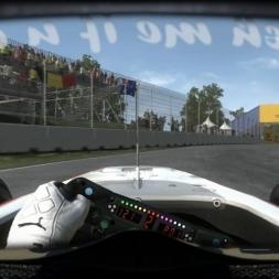 RD8: BMW Sauber C29 @ Montreal (Dry & Wet) Helmet Effect - F1 2010 60FPS