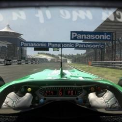 RD7: Force India VJM03 @ Istambul (Dry & Wet) Helmet Effect - F1 2010 60FPS
