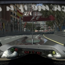 RD6: Mercedes MGP W01 @ Monaco (Dry & Wet) Helmet Effect - F1 2010 60FPS
