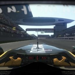 RD4: Renault R30 @ Shangai (Dry & Wet) Helmet Effect - F1 2010 60FPS