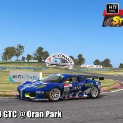 Ferrari F430 GTC @ Oran Park Driver's View - Stock Car Extreme 60FPS