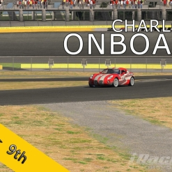 iRacing Hungarian Rookie Championship 2015/16 | Charlotte Motor Speedway | Test Race #1