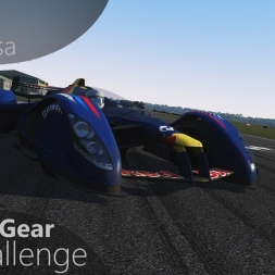 Assetto Corsa Top Gear Challenge #40 - Red Bull X2010 S1