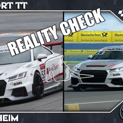 Reality Check - R3E - Audi TT Sport - Hockenheim