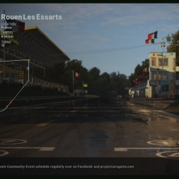 Project Cars 1965 Lotus Type 40 on Rouen GP (1080p60fps)