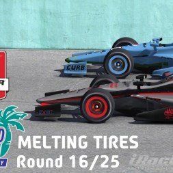"""iRacing: Melting Tires"" (IndyCar Winter Series Round 16: Homestead Miami Speedway)"