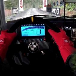 Dirt Rally - Lancia Delta HF Integrale @ Bronfelen Wales - Onboard Triple Screen