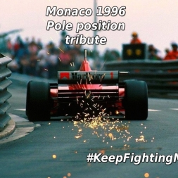 Michael Schumacher   Monaco 1996 pole position   tribute