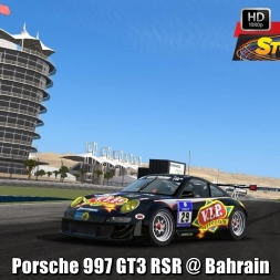 Porsche 997 GT3 RSR @ Bahrain Driver's View - Stock Car Extreme 60FPS