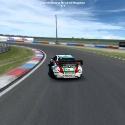 Mr C @ RaceDepartment   WTCC14 Honda   EuroSpeedway Lausitz GP