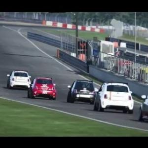 AC • Abarth 500 Corse @ Brands Hatch Indy | E4L5