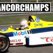 F1 2013 Classics: Williams FW12, Nigel Mansell at Spa-Francorchamps [Gameplay]