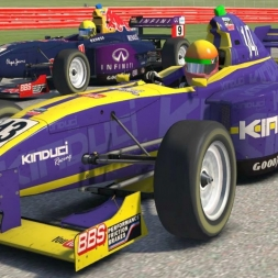iRacing Star Mazda at Silverstone - Good race after a dodgy start