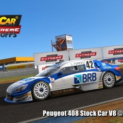 Peugeot 408 Stock Car V8 @ Campo Grande Driver's View - Stock Car Extreme 60FPS
