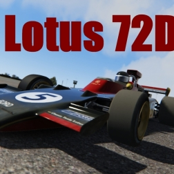 Assetto Corsa: Lotus72D AI race @ Barbagallo