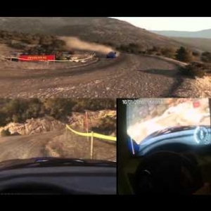 DiRT Rally -Subaru Impreza 2001 in Koryfi dafini (Griechenland) (T500rs, th8rs Onboard, POV)