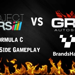 Project Cars vs Grid Autosport Side by Side Formula C PC Gameplay