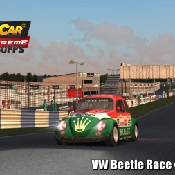 VW Beetle @ Livet Glen Driver's View   Stock Car Extreme 60FPS