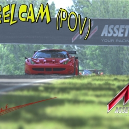 Assetto Corsa- Imola race im Ferrari 458 gt2  Onboard POV Drive [T500rs] [TH8RS]