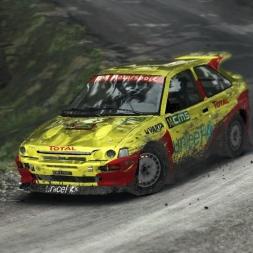 Escort Cosworth at Wales