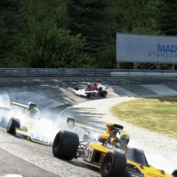 Project C.A.R.S Gameplay Race DLC - lotus type 72 d cosworth @ Nordschleife