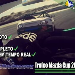 iRacing Brasil - Trofeo Mazda Cup S1 2016 - Corrida 1 (Laguna Seca)