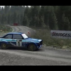 Dirt Rally - Pant Mawr Reverse - 2:57.809 - Ford Escort MkII