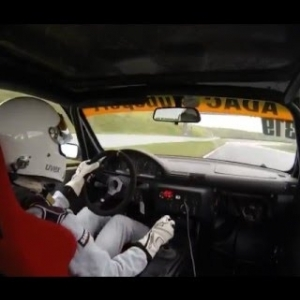 BMW 318ti Compact Cup - Oschersleben - Wet Track + no ABS + no rain tyres = fun