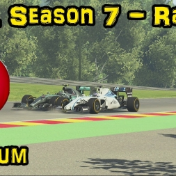 F1XL Season 7 Race Highlights - Round 11: Belgium
