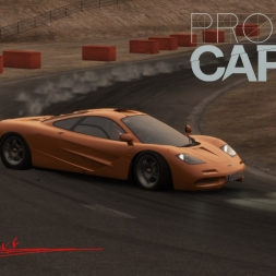 Project C.A.R.S Mclaren F1 at Willow Springs Horse Thief Mile