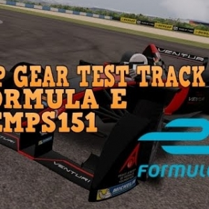 FORMULA E, Top Gear Test Track, Demps151