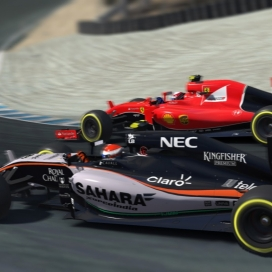 iRacing: F1 Race at Laguna Seca: Highlight