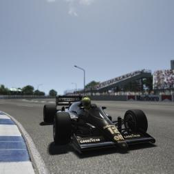 Assetto Corsa: Visceral Ayrton Senna 1986 Lotus 98T Lap @ Adelaide