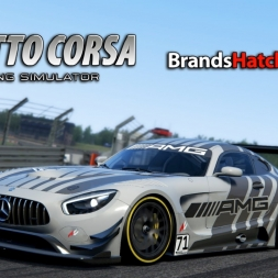 Assetto Corsa | Dream Pack 3 | Mercedes AMG GT3 @ Brands Hatch